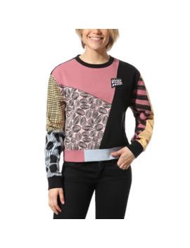 Disney X Vans Sally Patchwork Crew Sweater by Vans