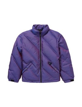 Supreme Iridescent Puffy Jacket Purple by Stock X