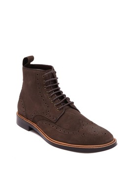 Dwayne Leather Wingtip Boot by Gordon Rush