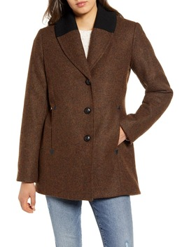 Hyde Park Wool Blend Riding Coat by Pendleton