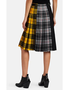 Patchwork Plaid Wool Kilt by Le Kilt