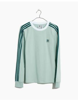 Adidas® Long Sleeve Three Stripe Tee by Madewell