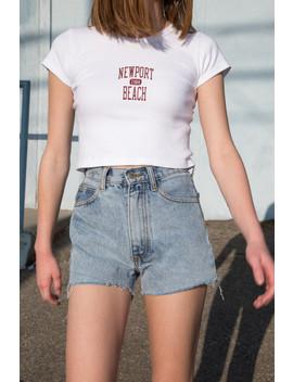 Ashlyn Newport Beach 1984 Top by Brandy Melville