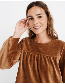 Texture & Thread Corduroy Swing Top by Madewell