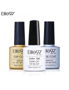 Elite99 Any 1 Pure Color Gel Polish Long Lsating Gel Lacquer Nail Art Base Coat Basic Top Coat Soak Off Led Uv Gel Primer by Ali Express.Com