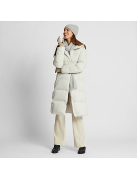 Women Seamless Down Long Coat (18) by Uniqlo