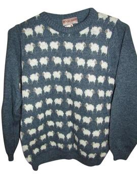Woolcraft Sheep Green Sweater by Nordstrom