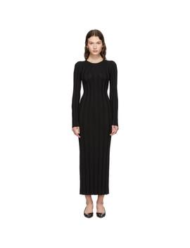 Robe Longue Noire Bianco by TotÊme