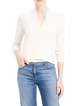Cashmere Henley Sweater by Theory