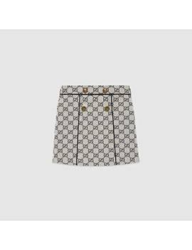 Children's Gg Canvas Skirt by Gucci