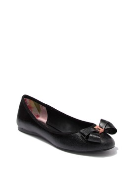 Immet Bow Detail Flat by Ted Baker London