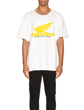 Yellow Rhonda Tee by Rhude