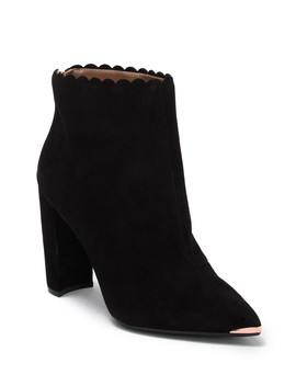 Ofelia Scalloped Pointy Toe Bootie by Ted Baker London