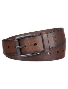 Denizen® From Levi's® Men's Casual Leather Belt With Roller Buckle   Brown by Denizen From Levi's