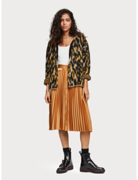 Animal Print Cardigan by Scotch&Soda