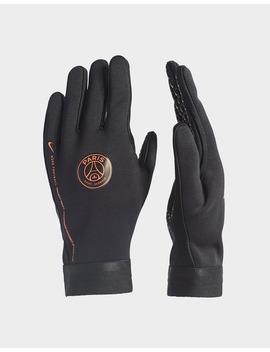Nike Paris Saint Germain X Jordan Hyper Warm Gloves by Jd Sports