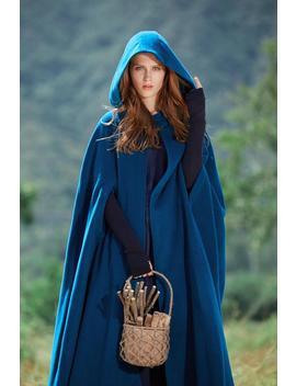 Wolle Wintermantel In Grün Cashmere Mantel Jacke Long Coat by Etsy