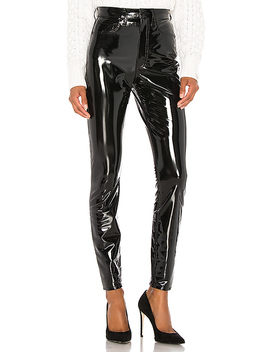 Vinyl Super High Rise Ankle Skinny by Rag & Bone