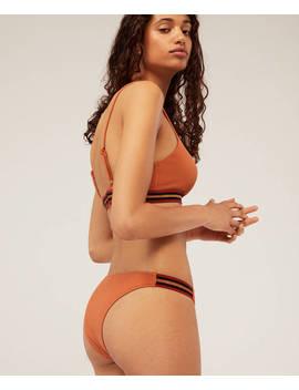 Braguita Bikini Brasileña Hilo Metalizado by Oysho