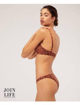 Braguita Bikini Brasileña Leopardo by Oysho