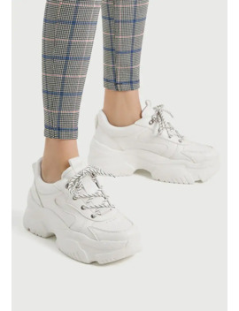 Mit Blocksohle   Sneakers Laag by Pull&Bear
