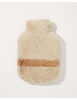 Faux Fur Hot Water Bottle by Jigsaw