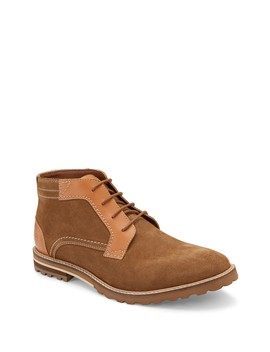 Suede Chukka Boot by Reserved Footwear