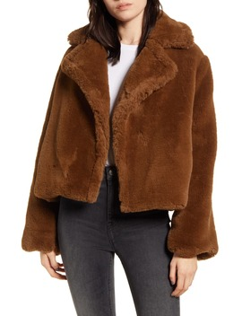 Big Time Faux Fur Jacket by Bb Dakota