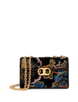 Gemini Link Fil Coupe Small Shoulder Clutch by Tory Burch