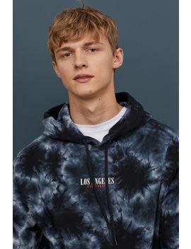 Gemustertes Kapuzenshirt by H&M