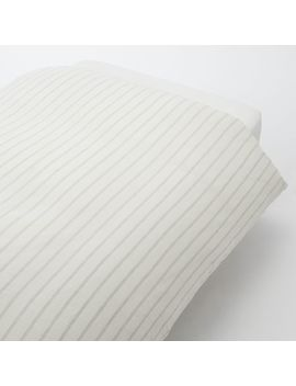 Linen Weave Duvet Cover by Muji