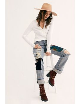 Solid Carly Henley by Free People