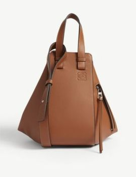 Hammock Small Grained Leather Shoulder Bag by Loewe
