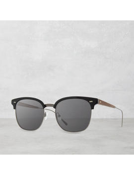 Foster Acetate Sunglasses, Black by Shwood