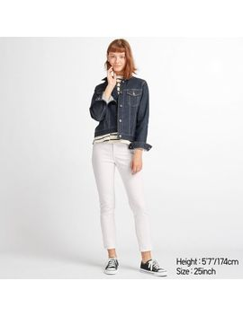 Women High Rise Skinny Ankle Jeans (Bc) by Uniqlo