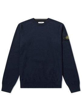 Stone Island Junior Crew Neck Knit by Stone Island Junior