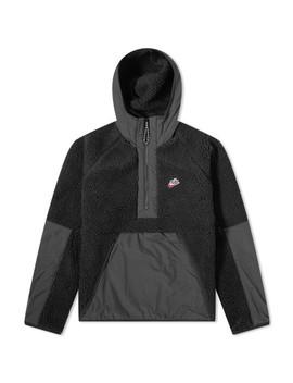 Nike Heritage Sherpa Half Zip Hoody by Nike