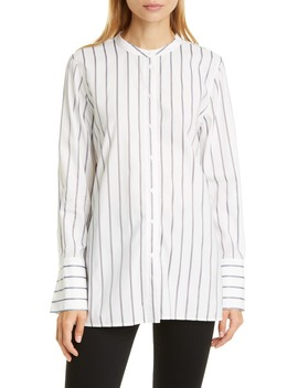Stripe Tunic Shirt by Nordstrom Signature