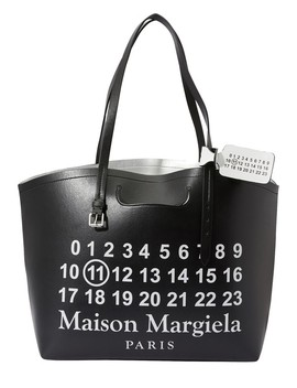 Logo Shopping Bag by Maison Margiela