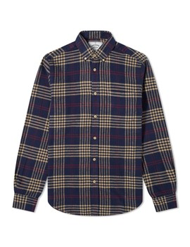 Portuguese Flannel Tomar Button Down Check Shirt by End.