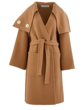 Double Breasted Wool Coat by Jw Anderson