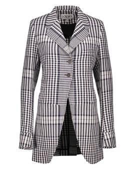 Square Motif Jacket by Loewe