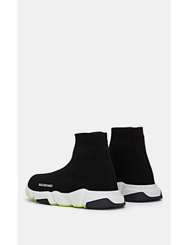 Kids' Speed Knit Sneakers by Balenciaga