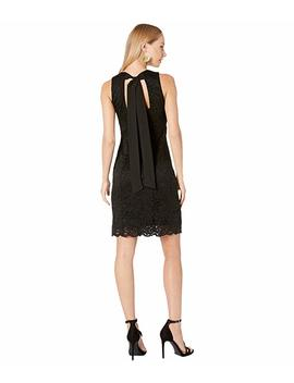 Lace Sheath With Bow Back by Sam Edelman