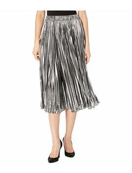 Foil Pleated Skirt by Michael Michael Kors
