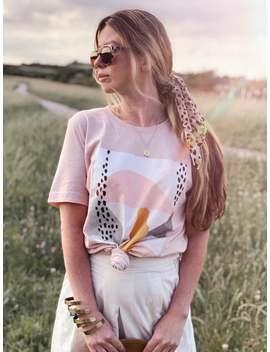Colour Block Design, Boyfriend Tee, Abstract Art Shirt, Eco Friendly T, Fashion Tee, Printed Graphic Tee, Modern Minimalism, Modern T Shirt by Etsy