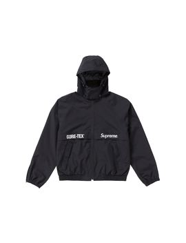 Supreme Gore Tex Court Jacket Black by Stock X