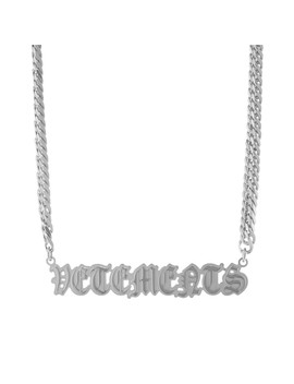 Vetements Gothic Logo Necklace by Vetements