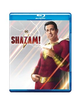 Shazam! (Blu Ray + Dvd + Digital Copy) by Warner Bros.