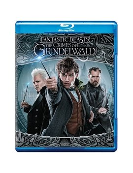 Fantastic Beasts: The Crimes Of Grindelwald (Blu Ray + Dvd + Digital Copy) by Warner Bros.